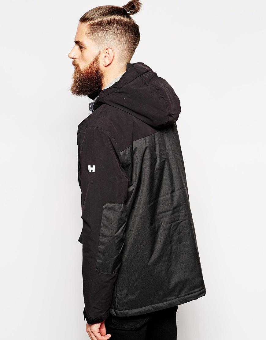 hansen black single men Women's coats and jackets grey/black texture tailored single breasted jacket $66 helly hansen black blume puffy parka $331.
