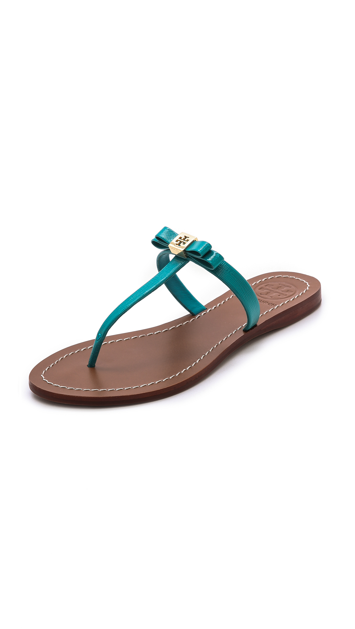 Lyst Tory Burch Leighanne Sandals In Blue