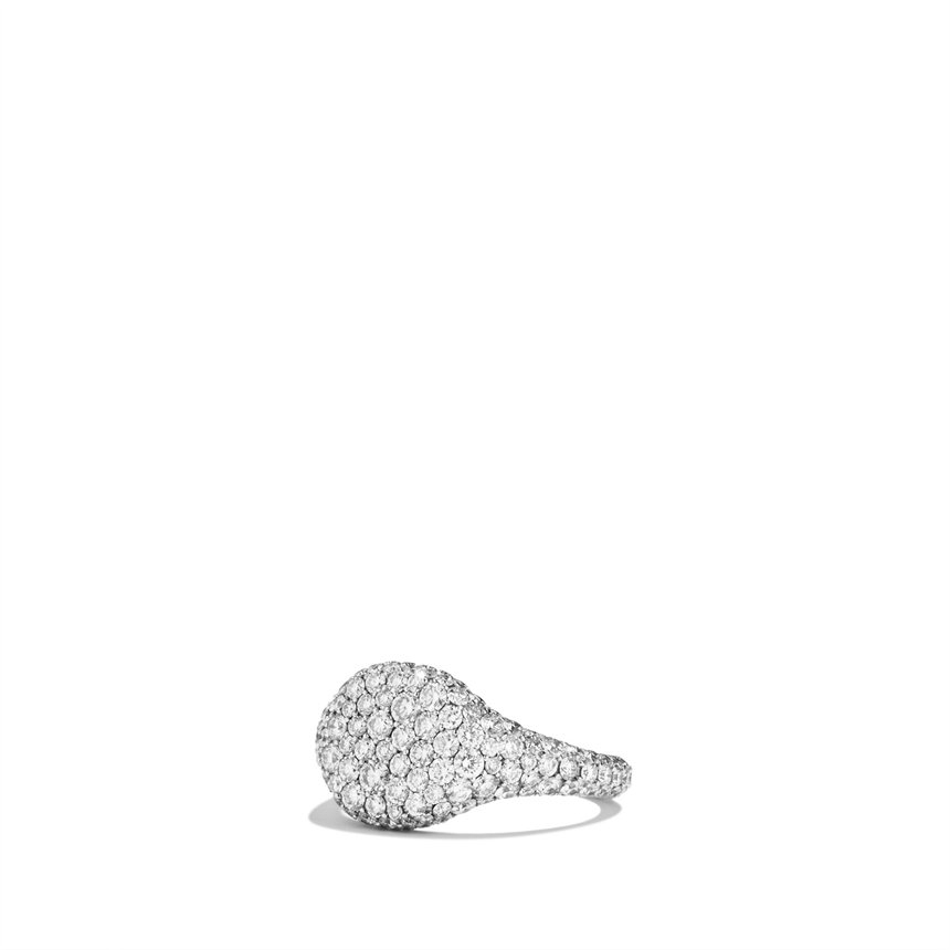 David Yurman Diamond Pinky Ring