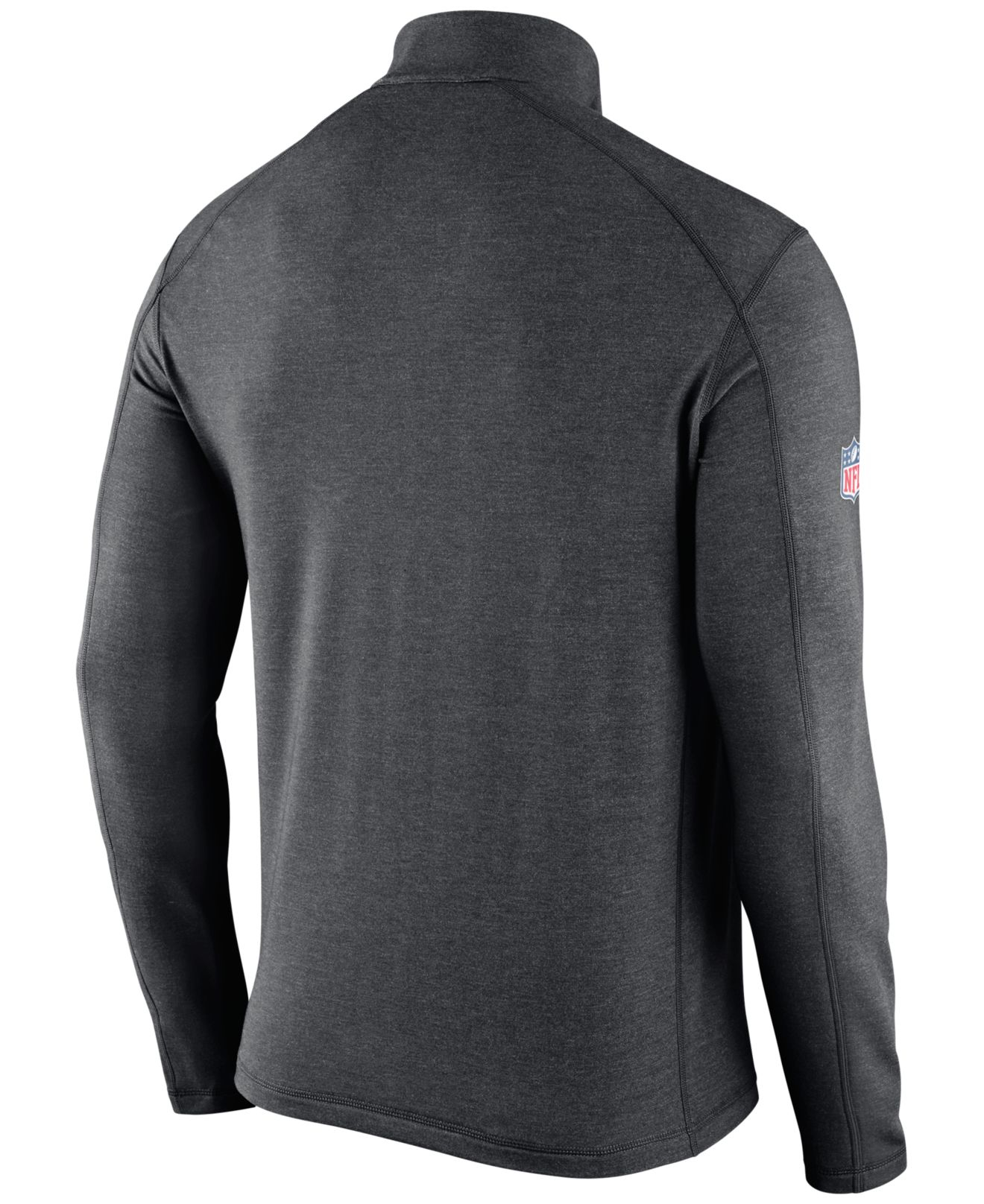 ... Nike Mens Chicago Bears Half-zip Dri-fit Jacket in Gray for ... f833c5355