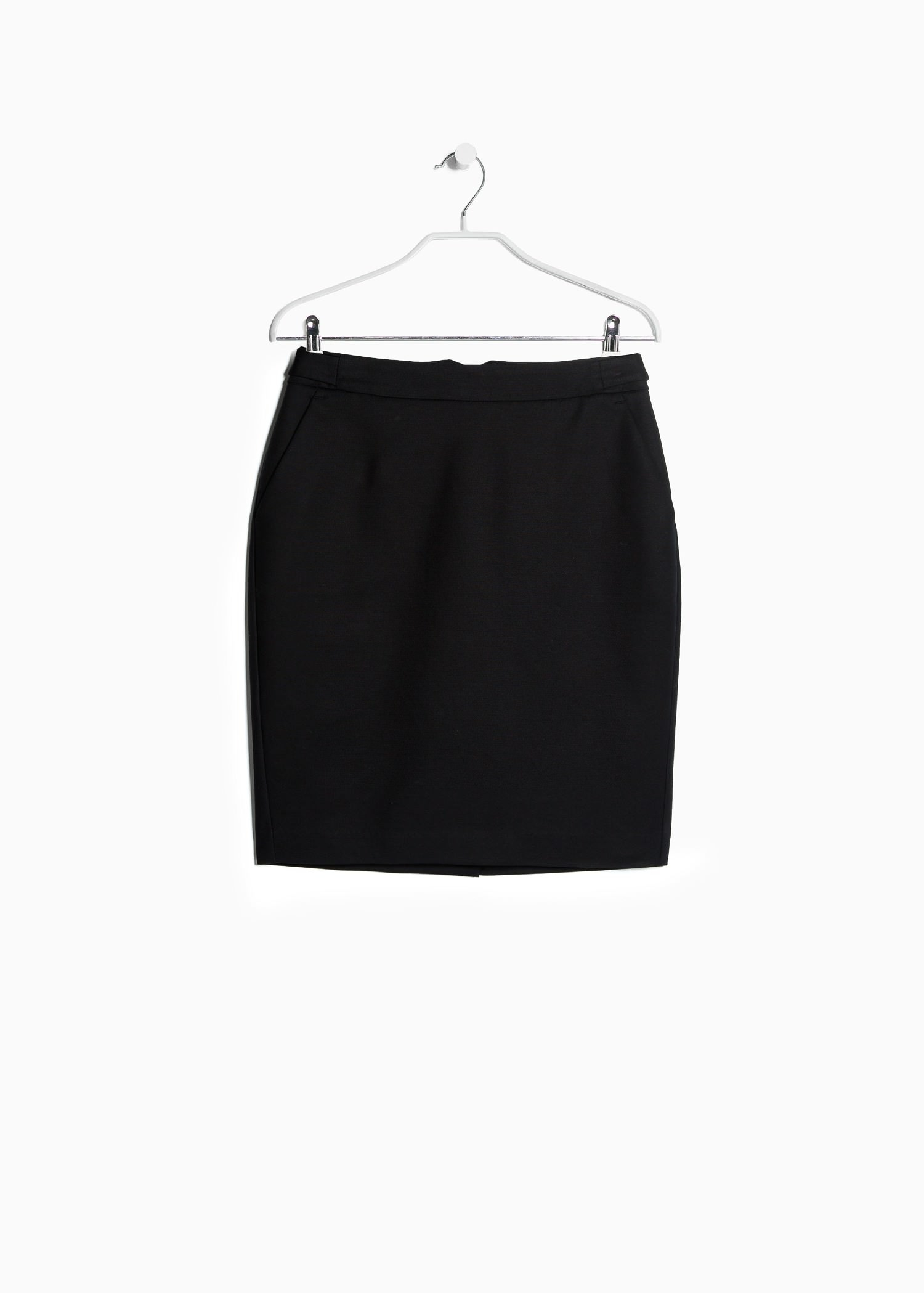 Cotton Black Skirt 105