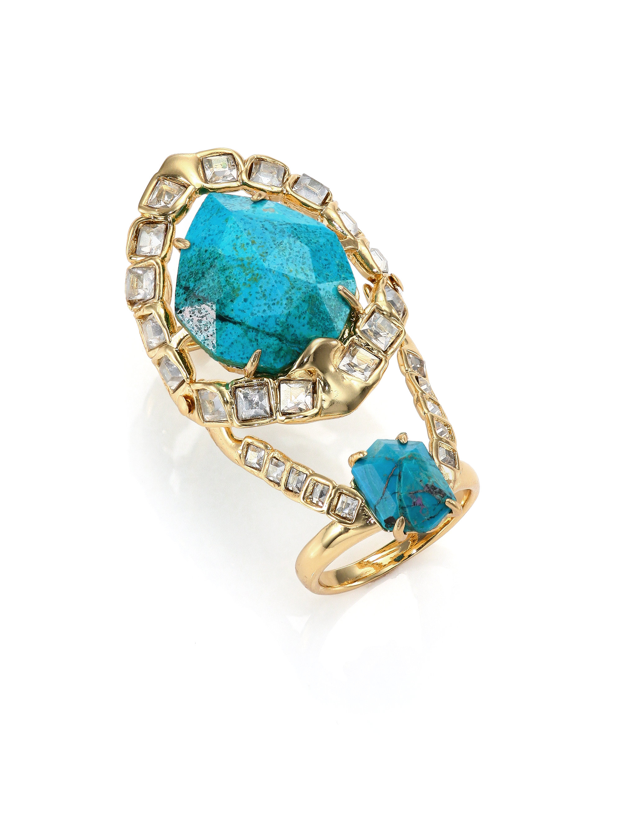 of gemstone introducing william article gemstones s vogue welstead collection teal rings eldridge jewelry lisa