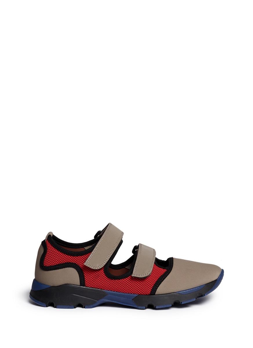 Marni Velcro Strap Sneaker in . LDxmVU3B