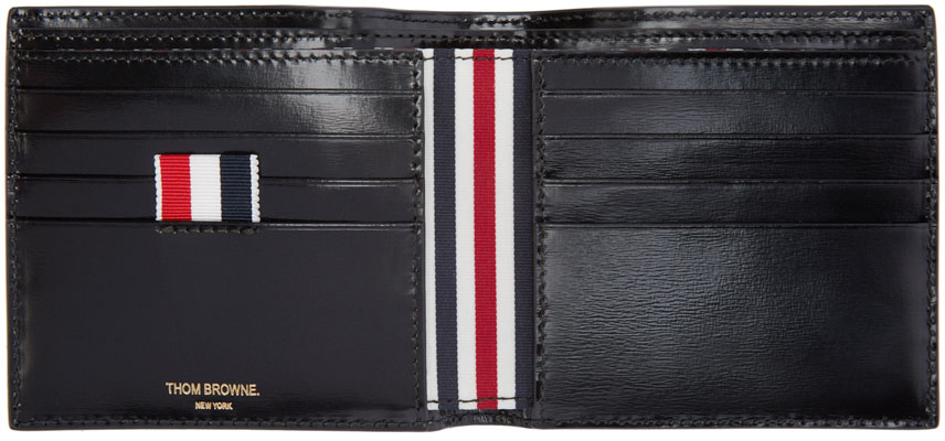 Thom Browne patent leather wallet Free Shipping Cost V9gf7Lw
