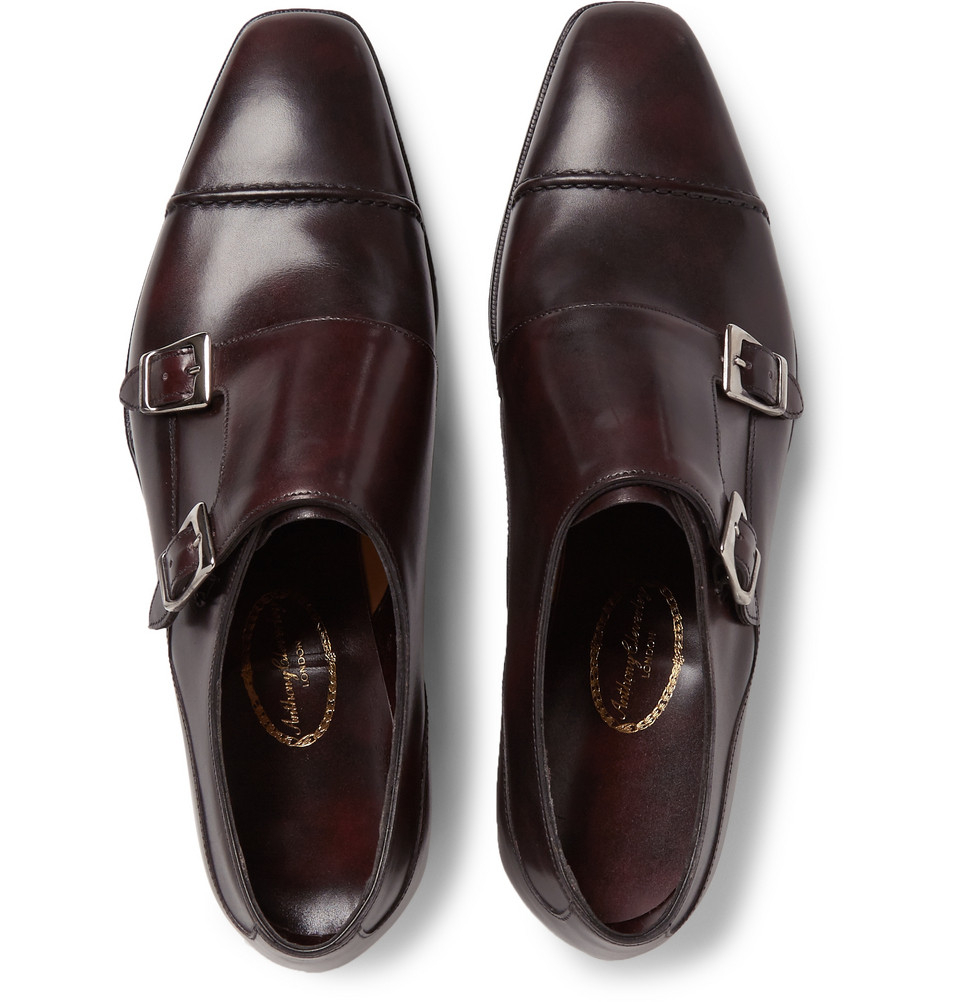 Thomas Leather Monk-strap Shoes George Cleverley OS7C252kOq