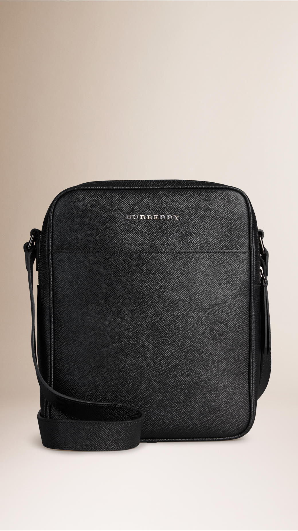 64d5d3bcc27c Lyst - Burberry London Leather Crossbody Bag in Black for Men