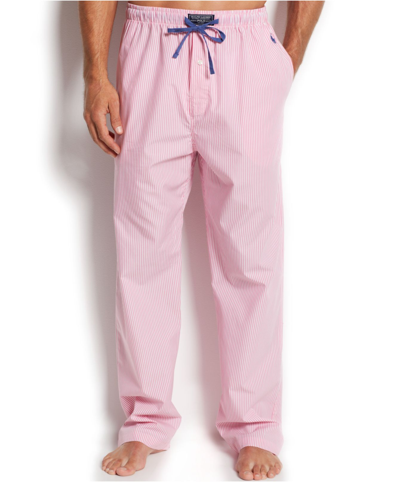 94c8a884854 Polo Ralph Lauren Mens Knit Oxford Pajama Pants - Capital Facility ...