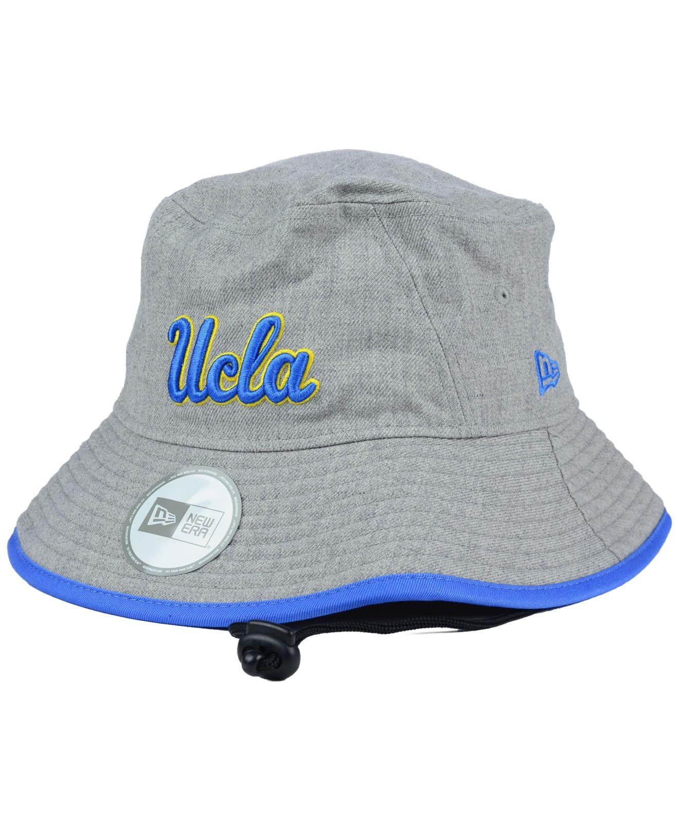 5b73334a35888 ... italy ktz ucla bruins tip bucket hat in gray for men lyst 255bf 122df