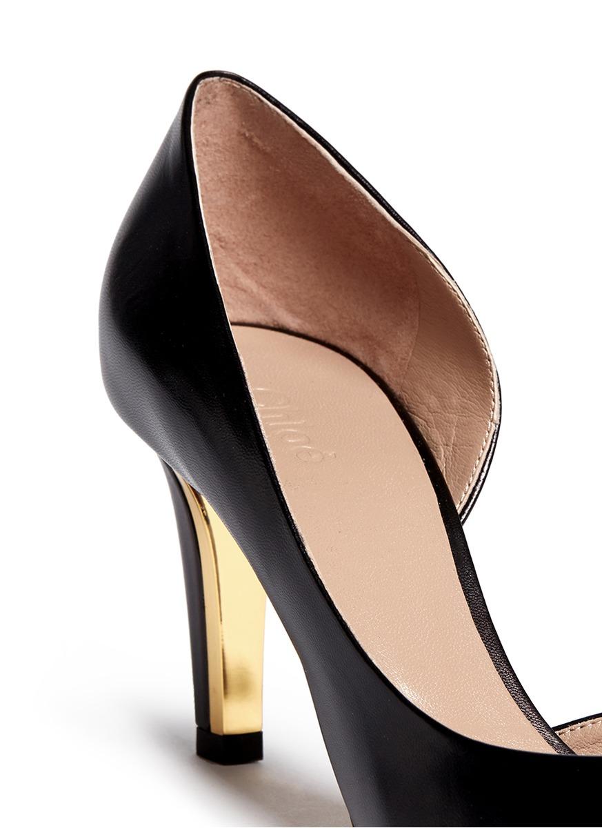 Black Shoes Metal Plate