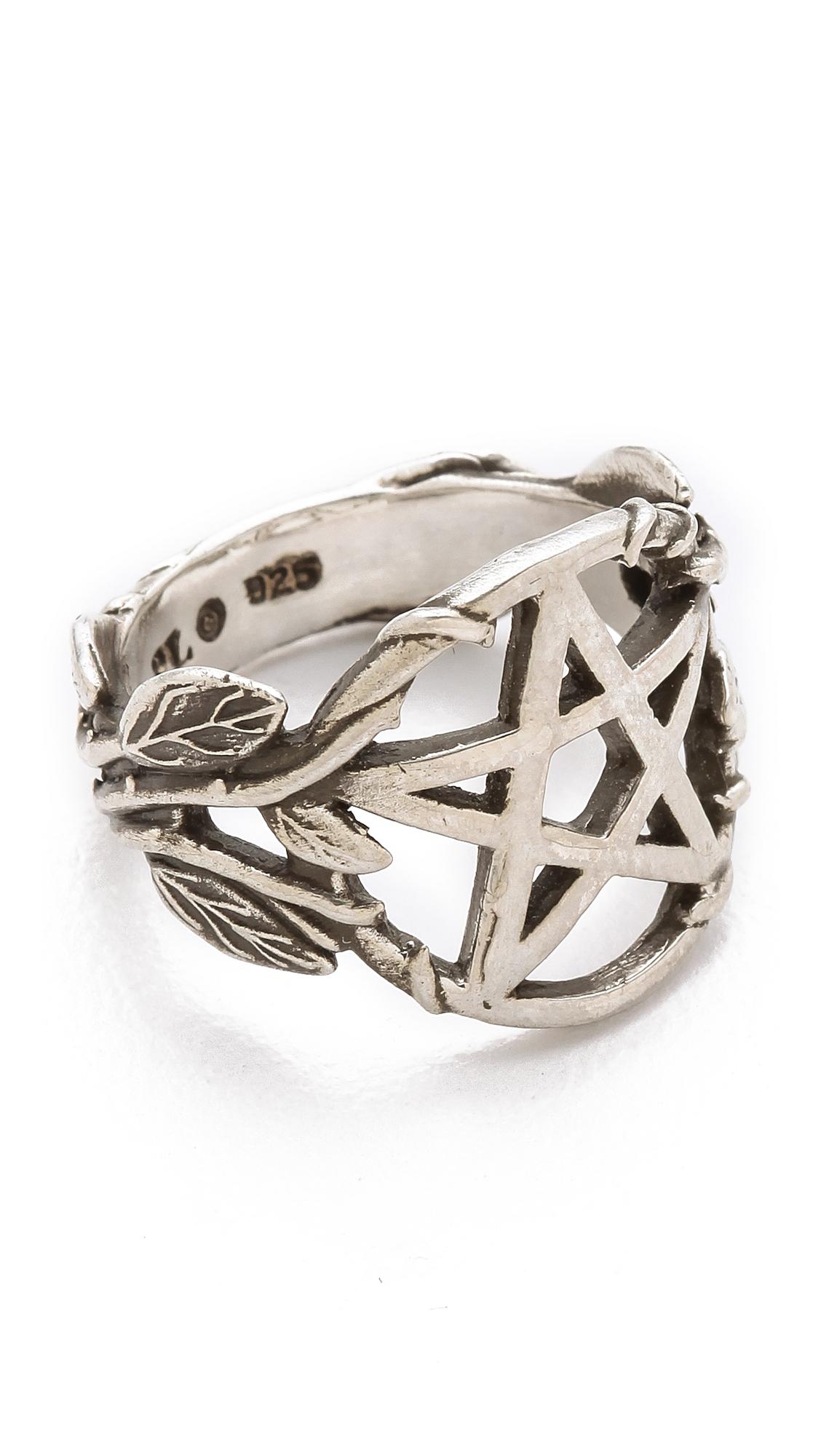Pentagram Ring Pamela Love