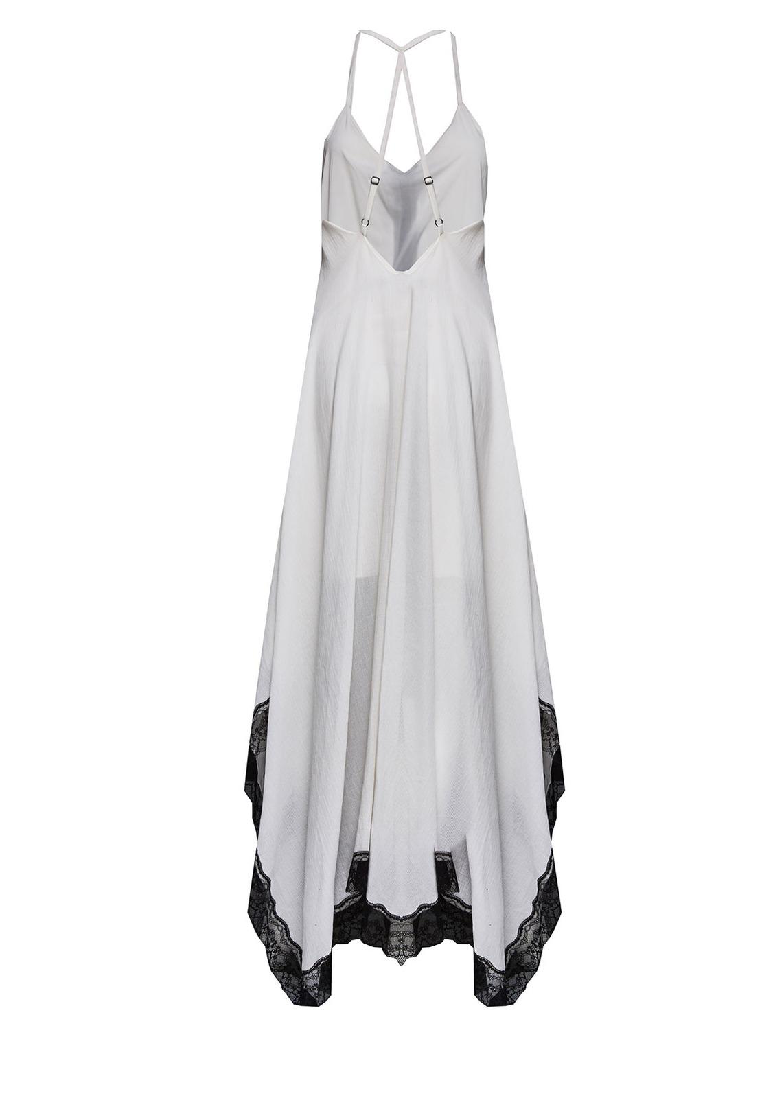Handkerchief dresses black and white