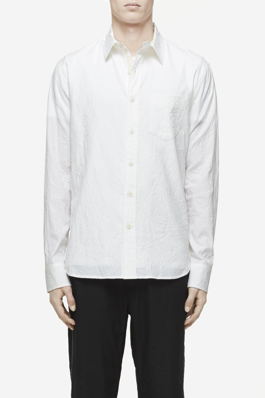 Rag bone field shirt in white for men lyst for Rag bone shirt