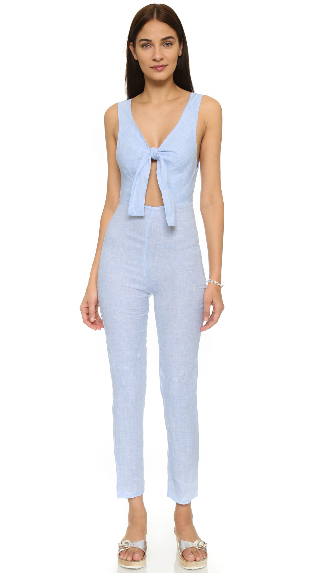 Solid & striped The Jumpsuit in Blue | Lyst
