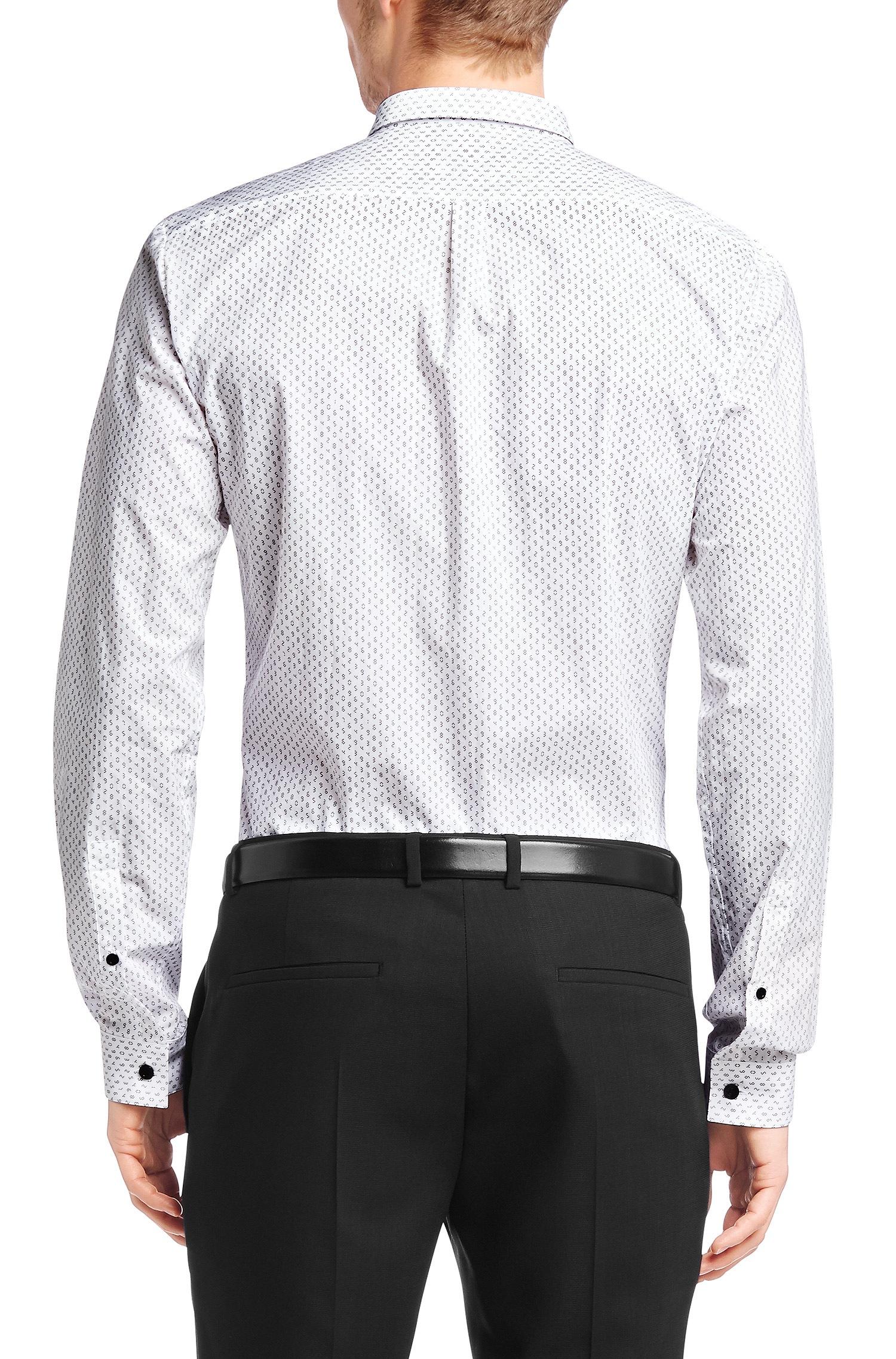 Lyst Hugo 39 Erren 39 Slim Fit Cotton Button Down Shirt