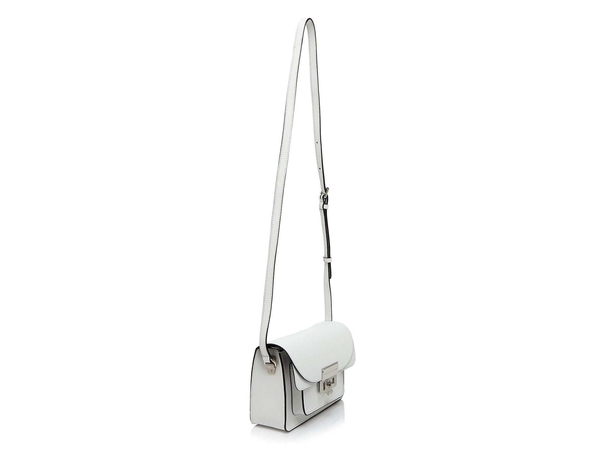 Marc By Marc Jacobs Crossbody - Lip Lock in White