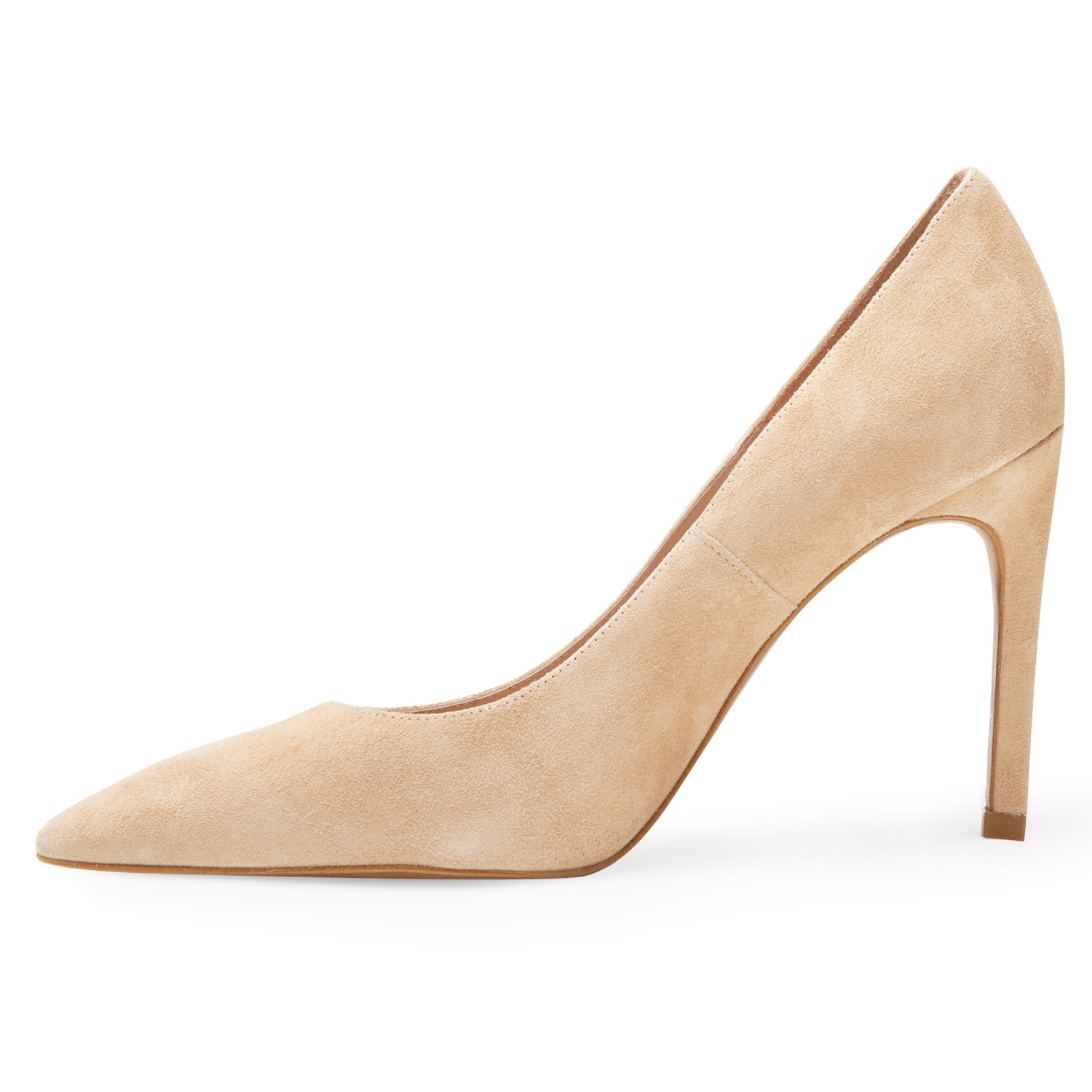 ac47690edff Whistles Cornel High Heeled Stiletto Court Shoes in Natural - Lyst