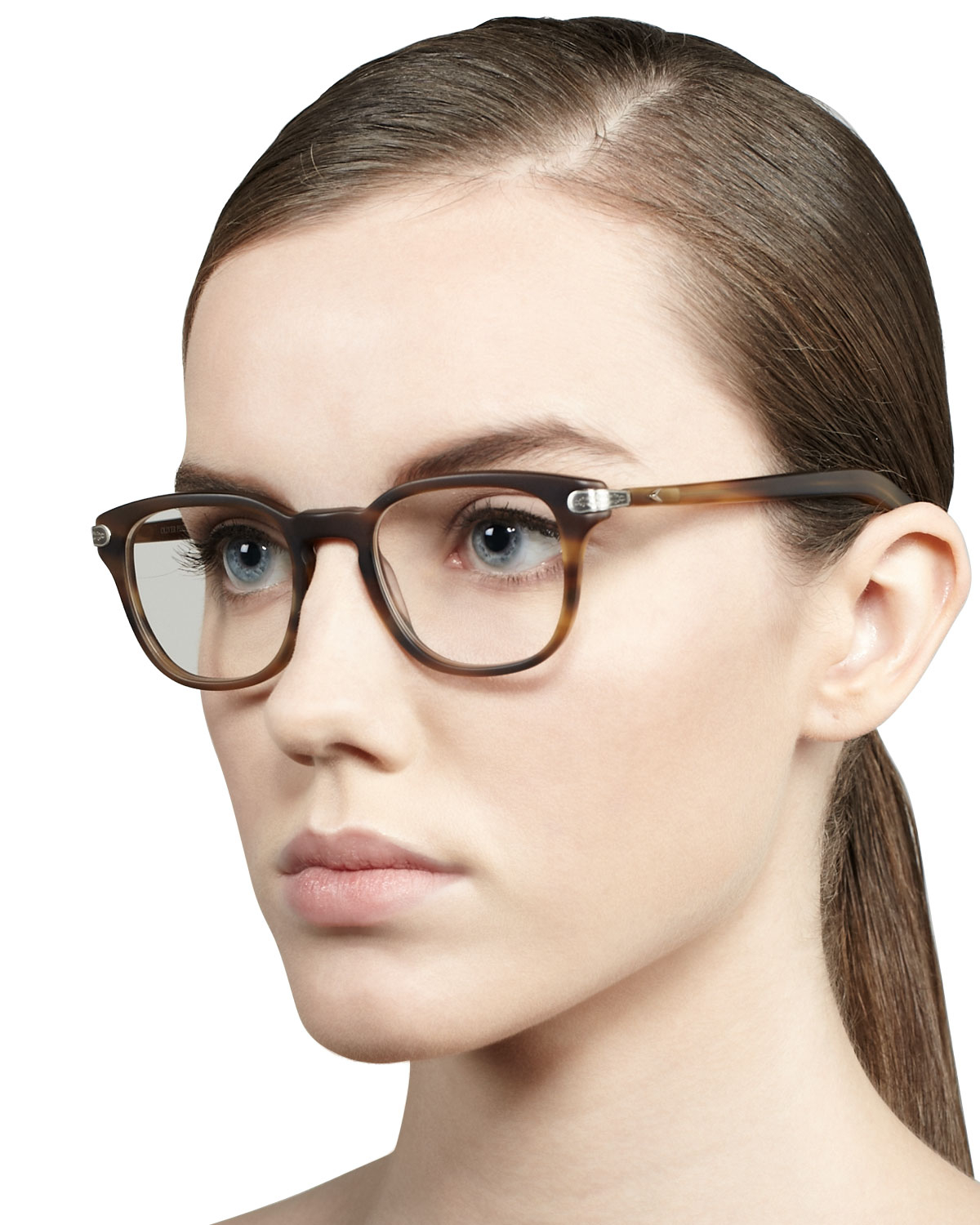 Oliver Peoples Fashion Glasses In Brown Lyst