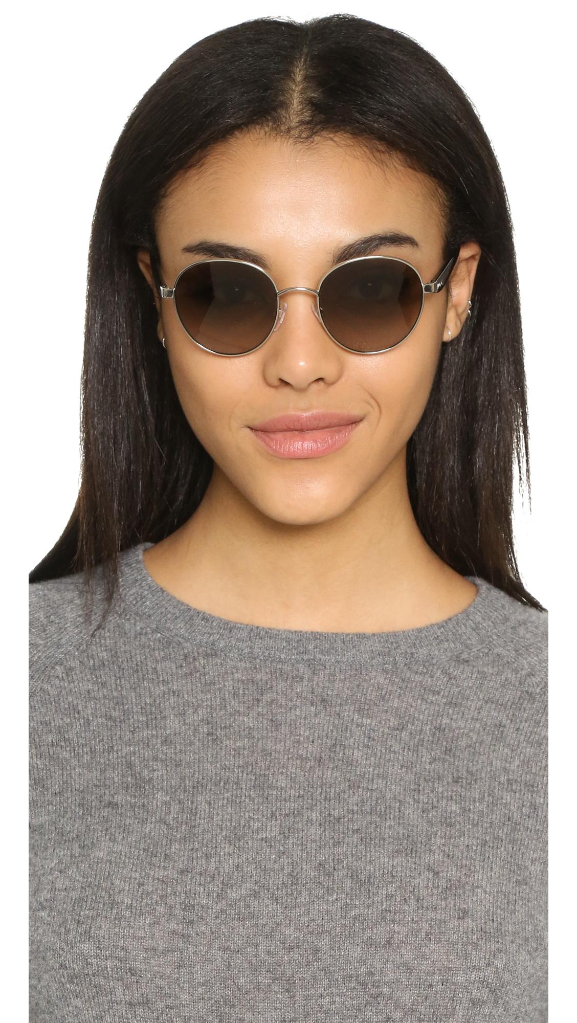 Michael Kors Adrianna Sunglasses  michael kors sa iii sunglasses in metallic lyst