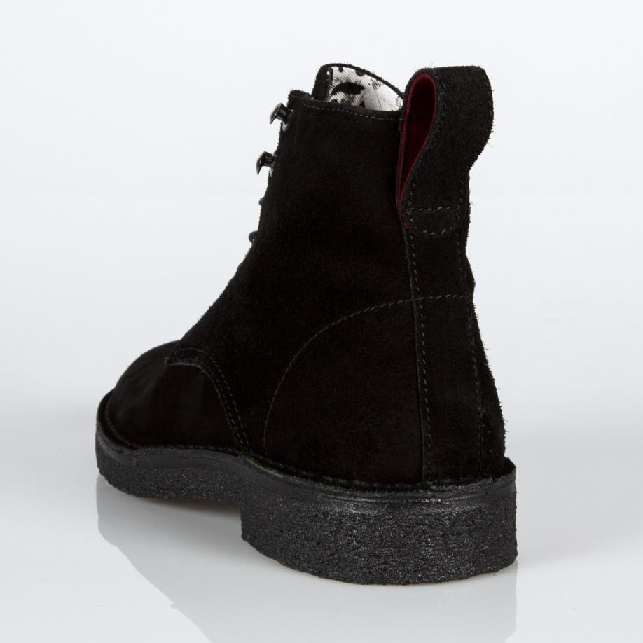 Paul smith Men's Black Suede 'echo' Boots in Black for Men ...