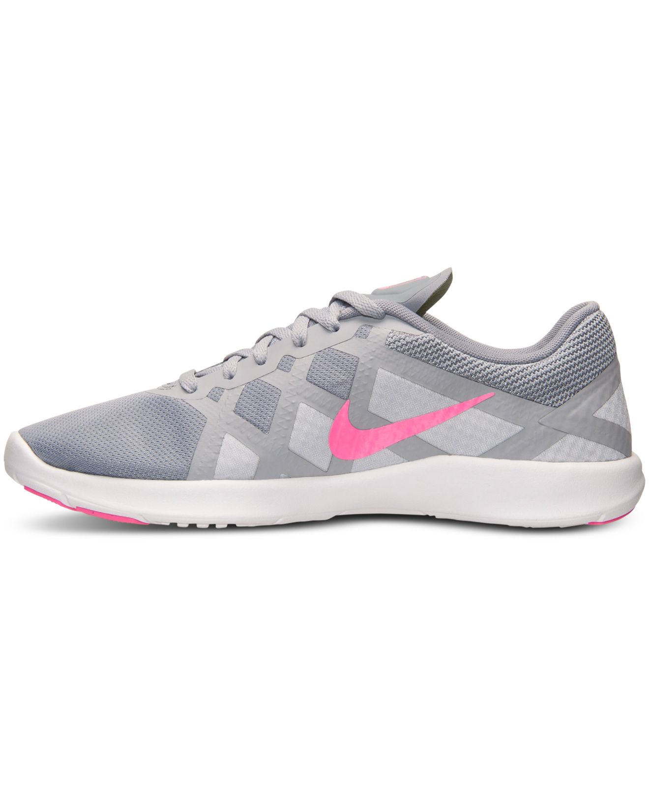 0ebf0e3a25 Lyst - Nike Women s Lunar Lux Tr Training Sneakers From Finish Line ...