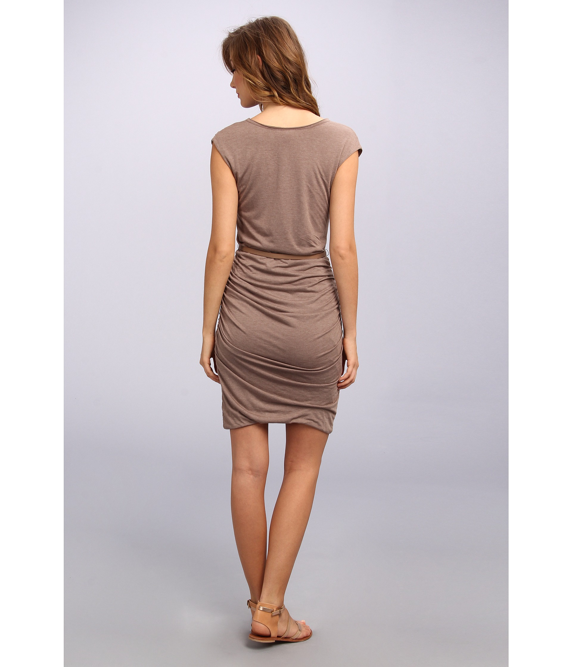 2eae11cc07 Lyst - Kut From The Kloth Avy Knit Dress in Brown