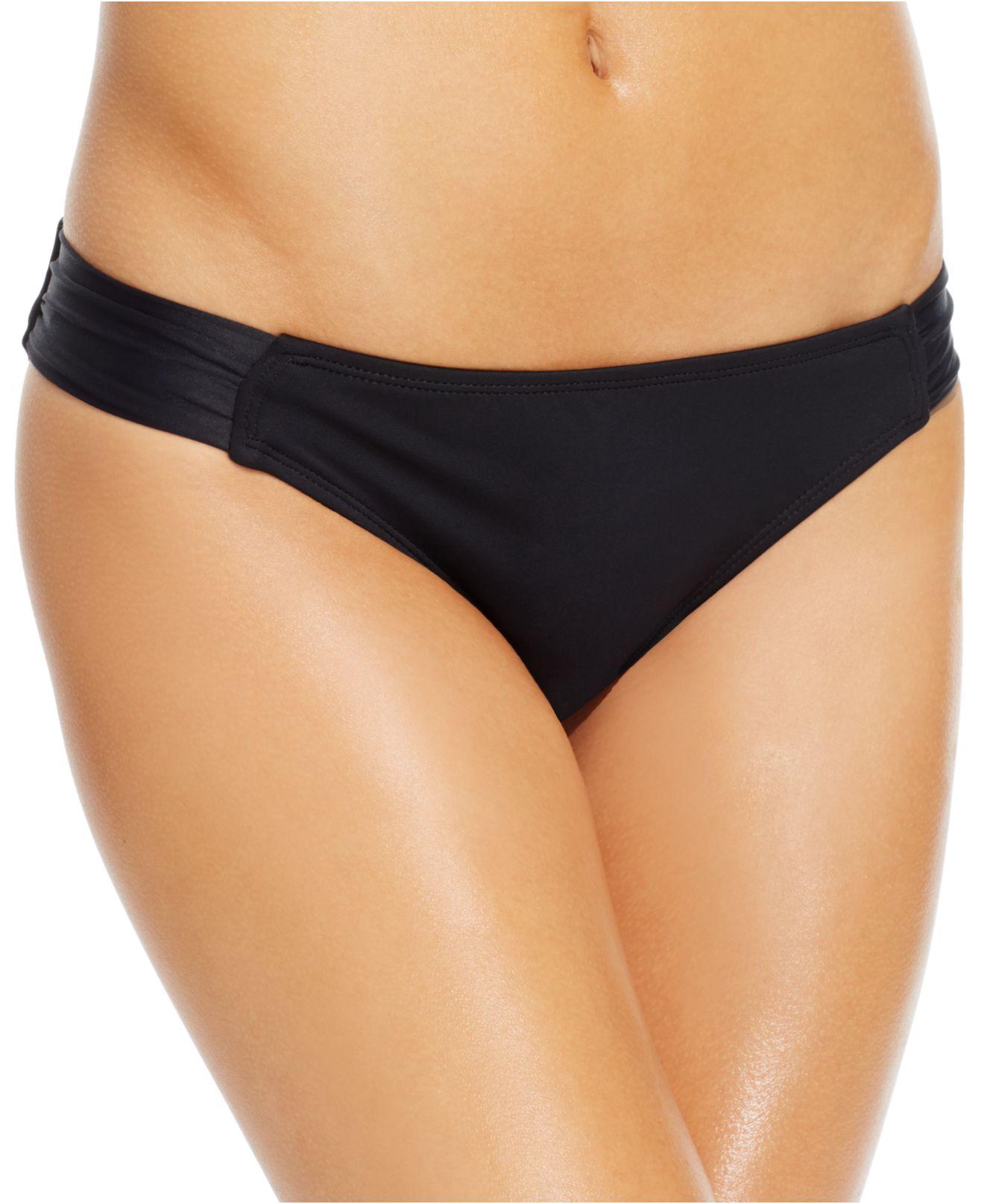 Bikini bottom ruched