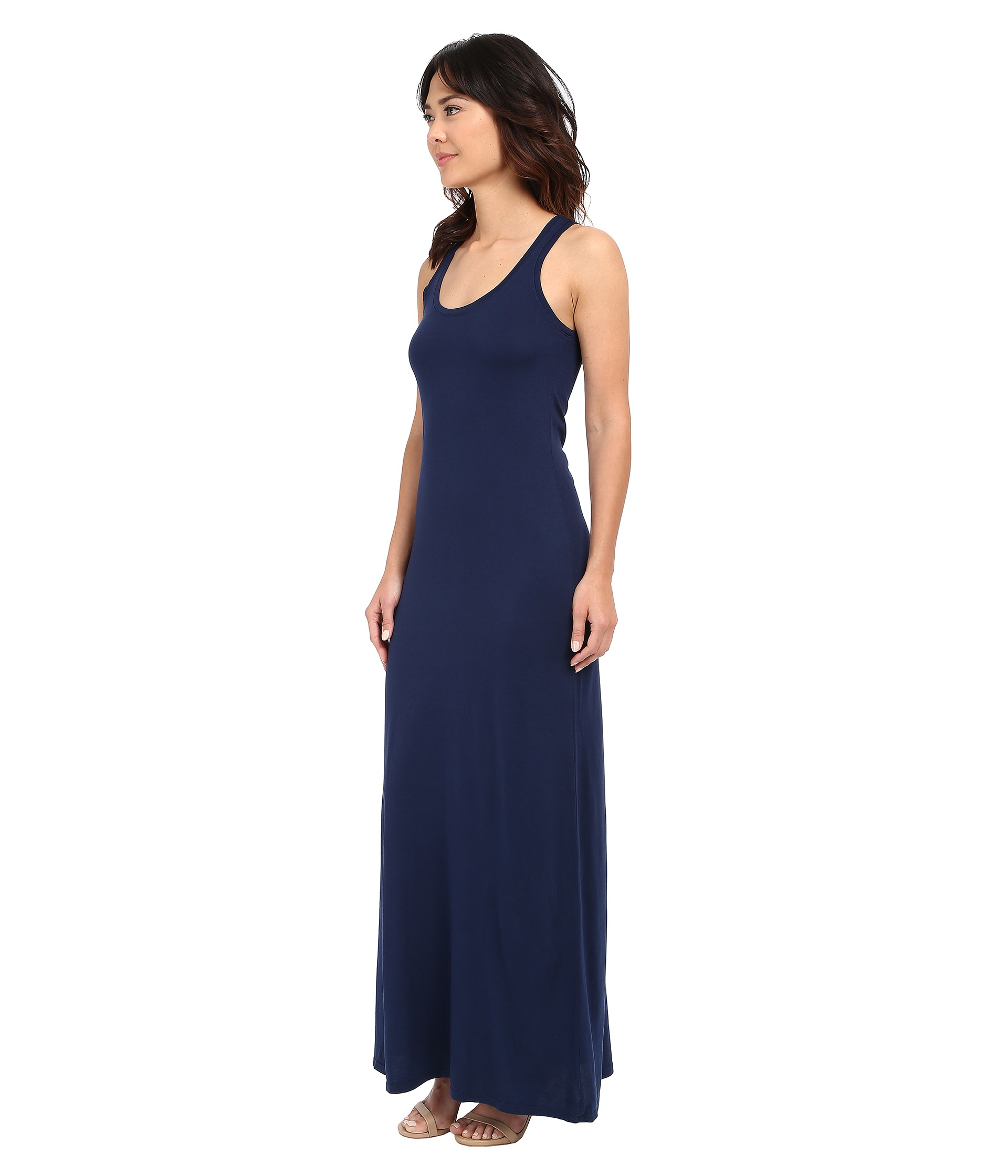 Michael stars Tank Maxi Dress in Blue | Lyst