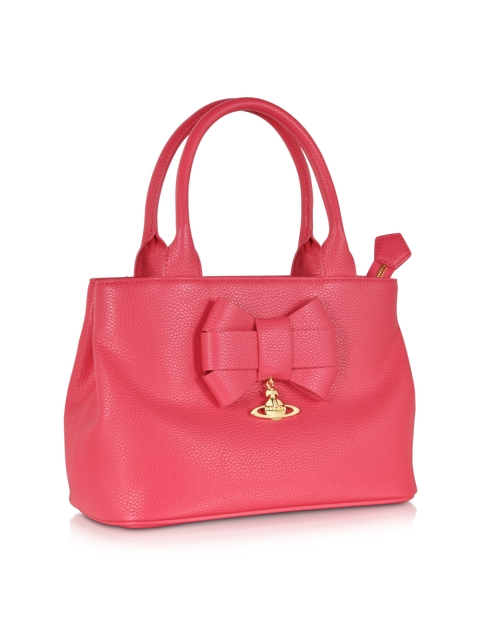 5c35be3817 Lyst - Vivienne Westwood Bow Strawberry Eco-Leather Satchel in Red