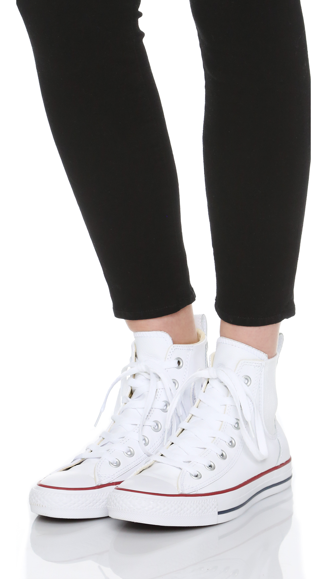 Converse Chuck Taylor All Star Chelsea Sneakers - Cream ...