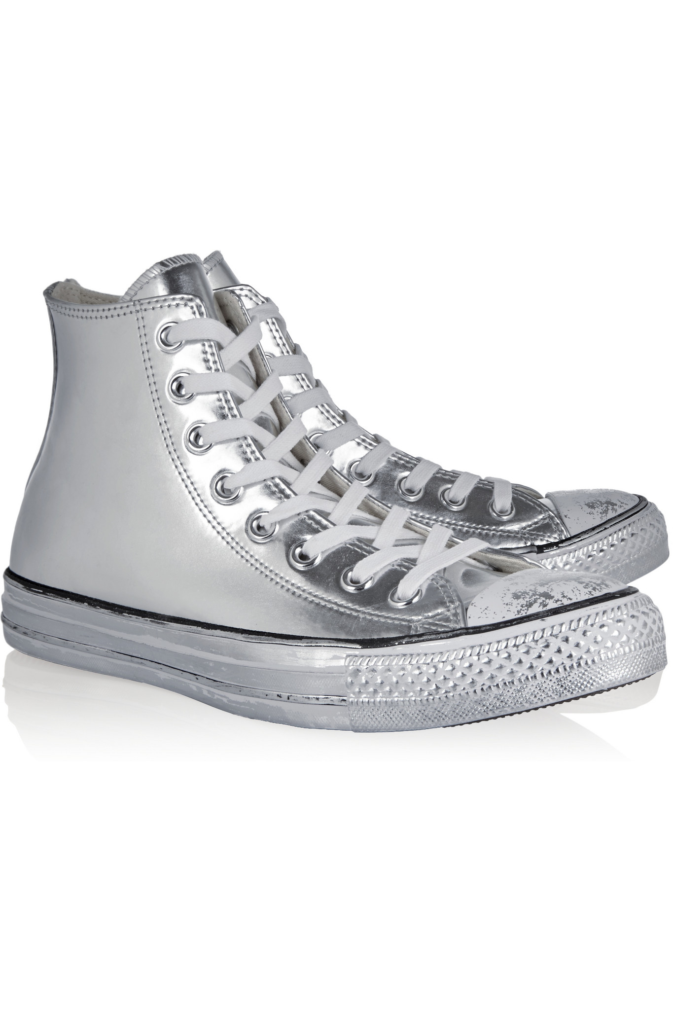 Converse Chuck Taylor All Star Metallic High Top NWT
