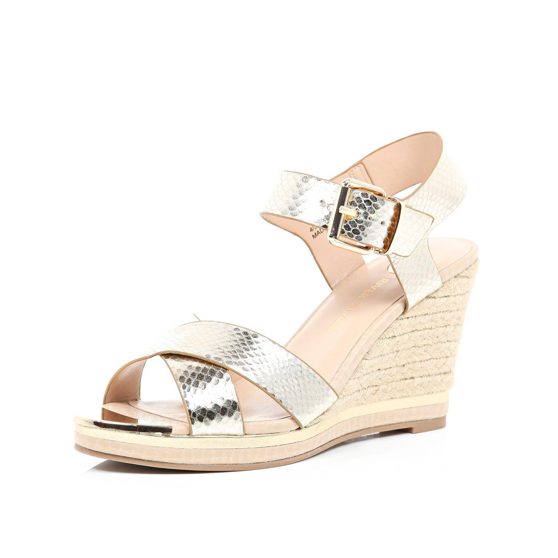 Gallery. Women's Gold Sandals ...