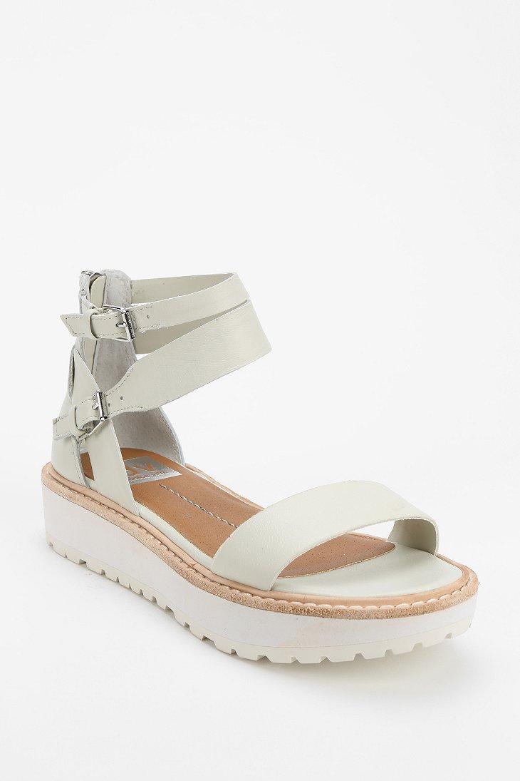 Lyst Dolce Vita Zenith Flatform Sandal In White