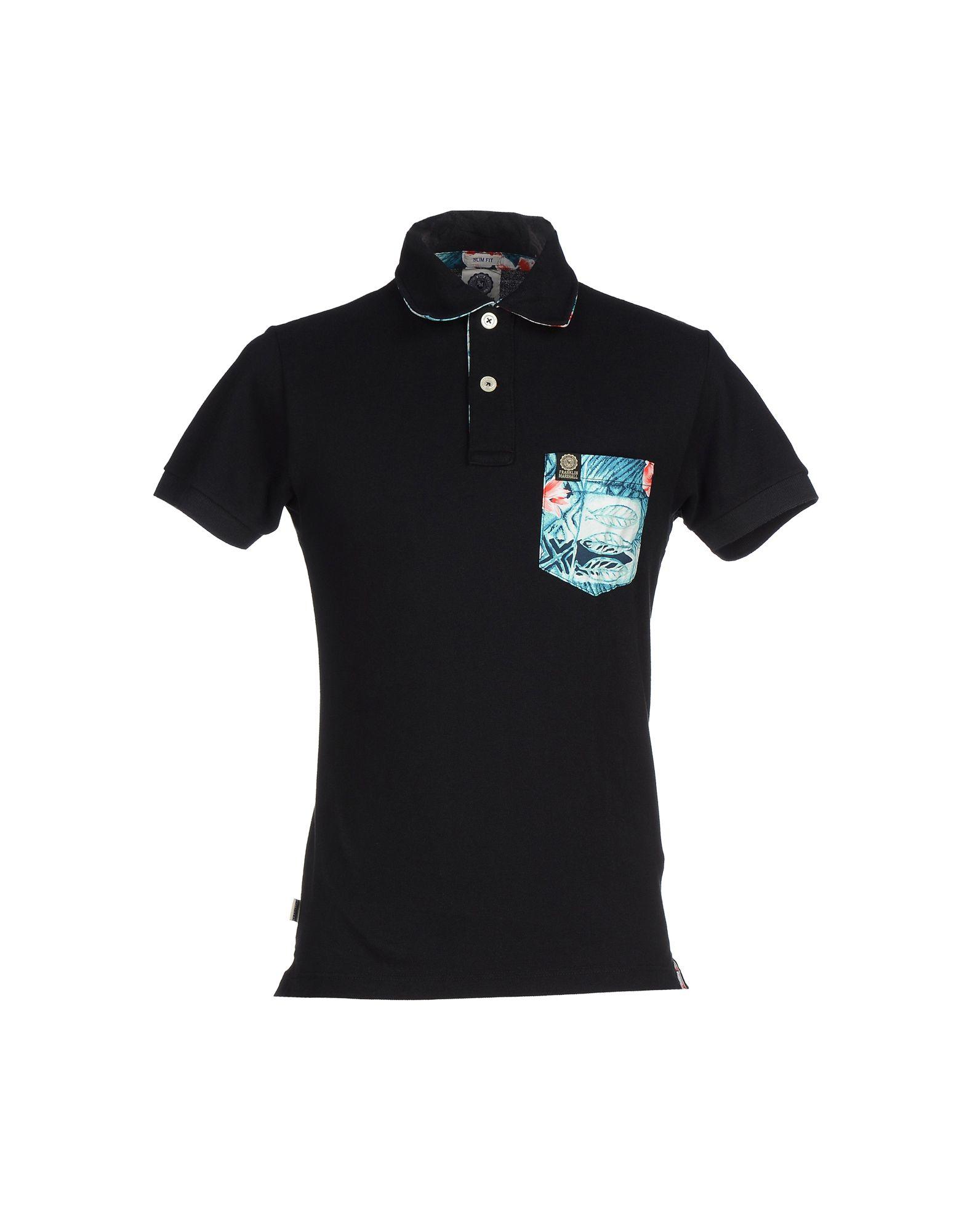 Franklin Marshall Polo Shirt In Black For Men Lyst