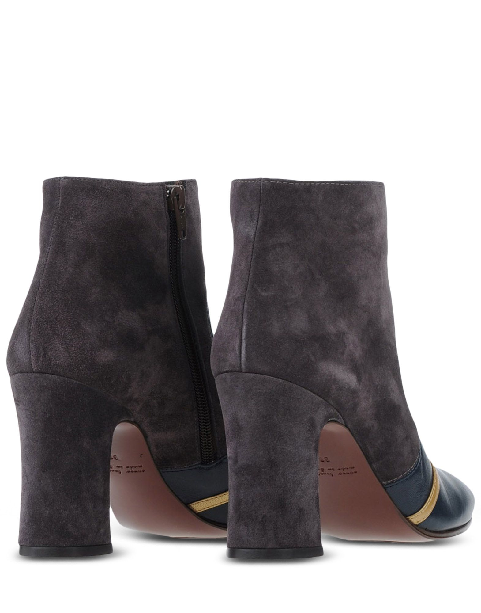 chie mihara ankle boots in blue blue lyst