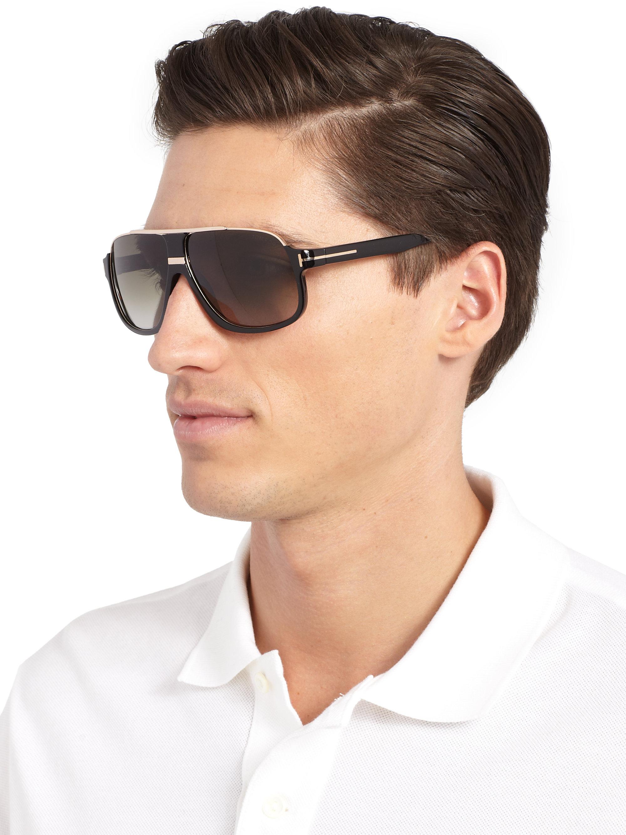 d37f11f7b9 Lyst - Tom Ford Eliot Sunglasses in Black for Men