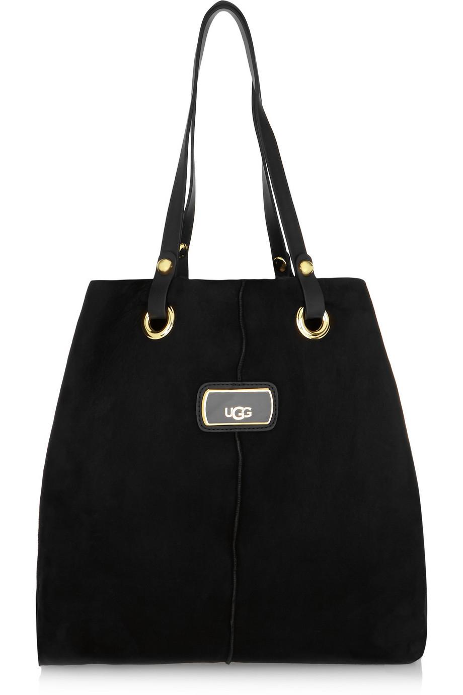 black ugg purse
