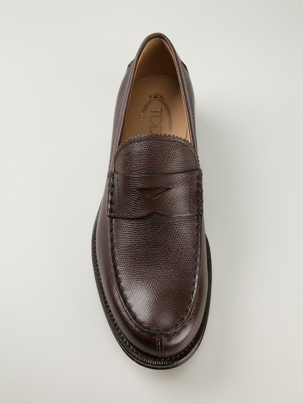 Tod's Classic Penny Loafers in Brown for Men | Lyst