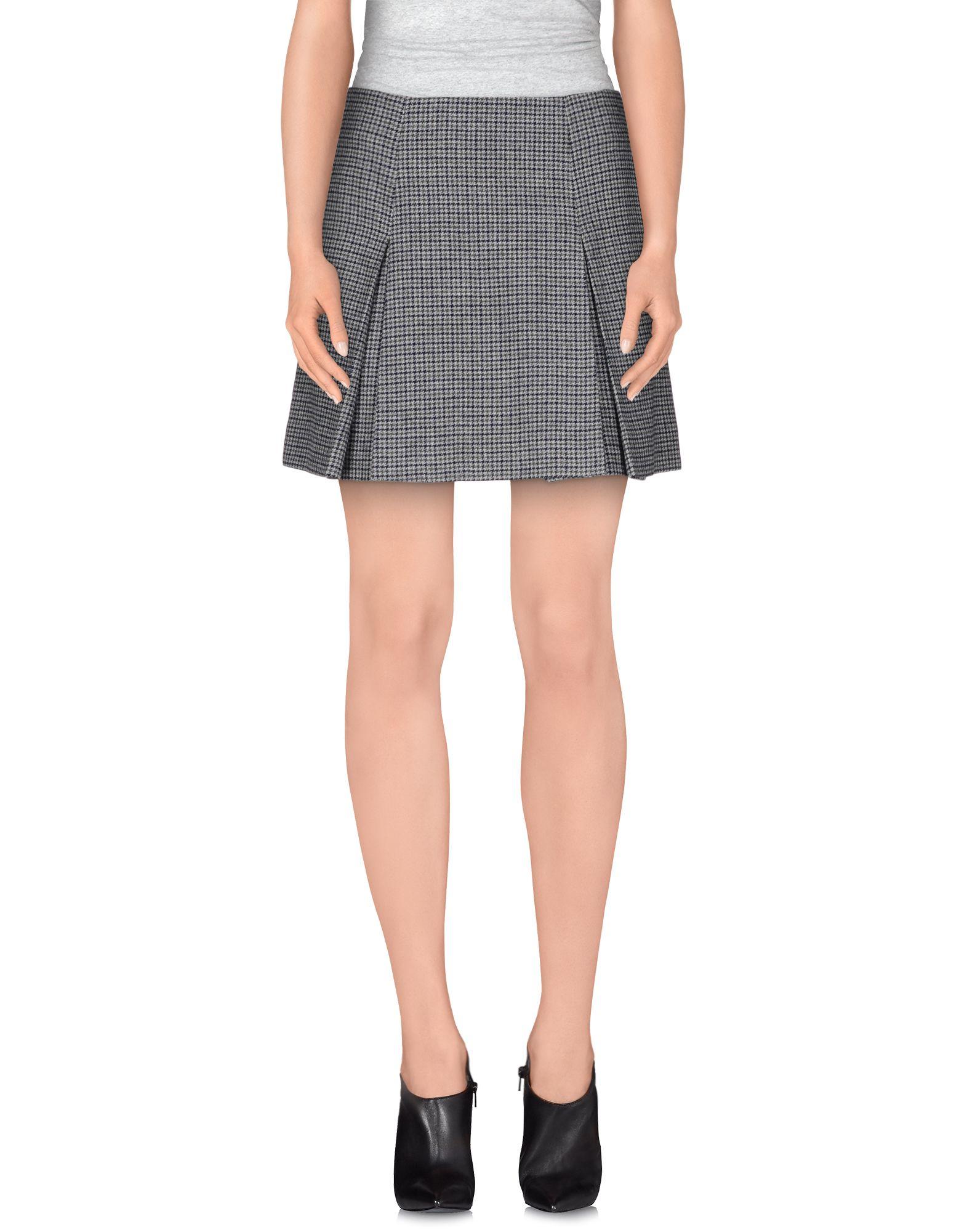 Grey Mini Skirt 35