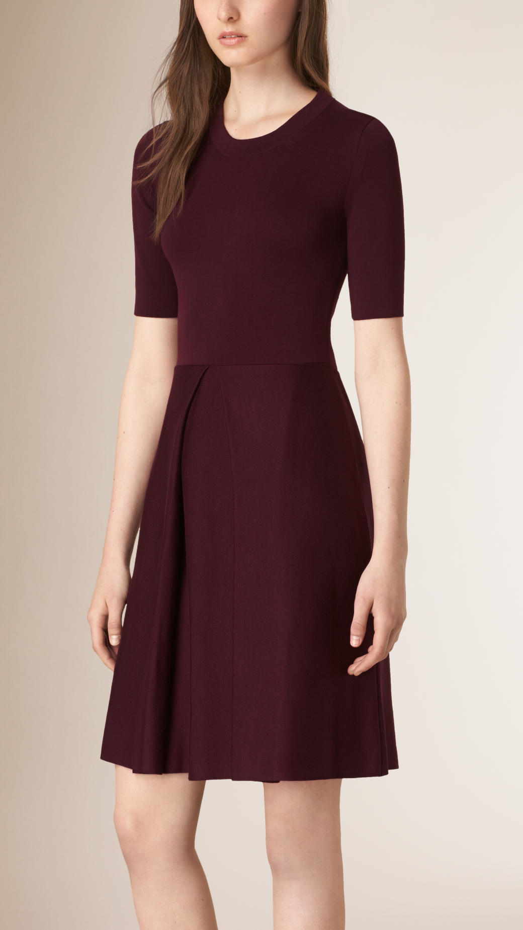 Burberry Purple Dress - Best Gowns And Dresses Ideas & Reviews