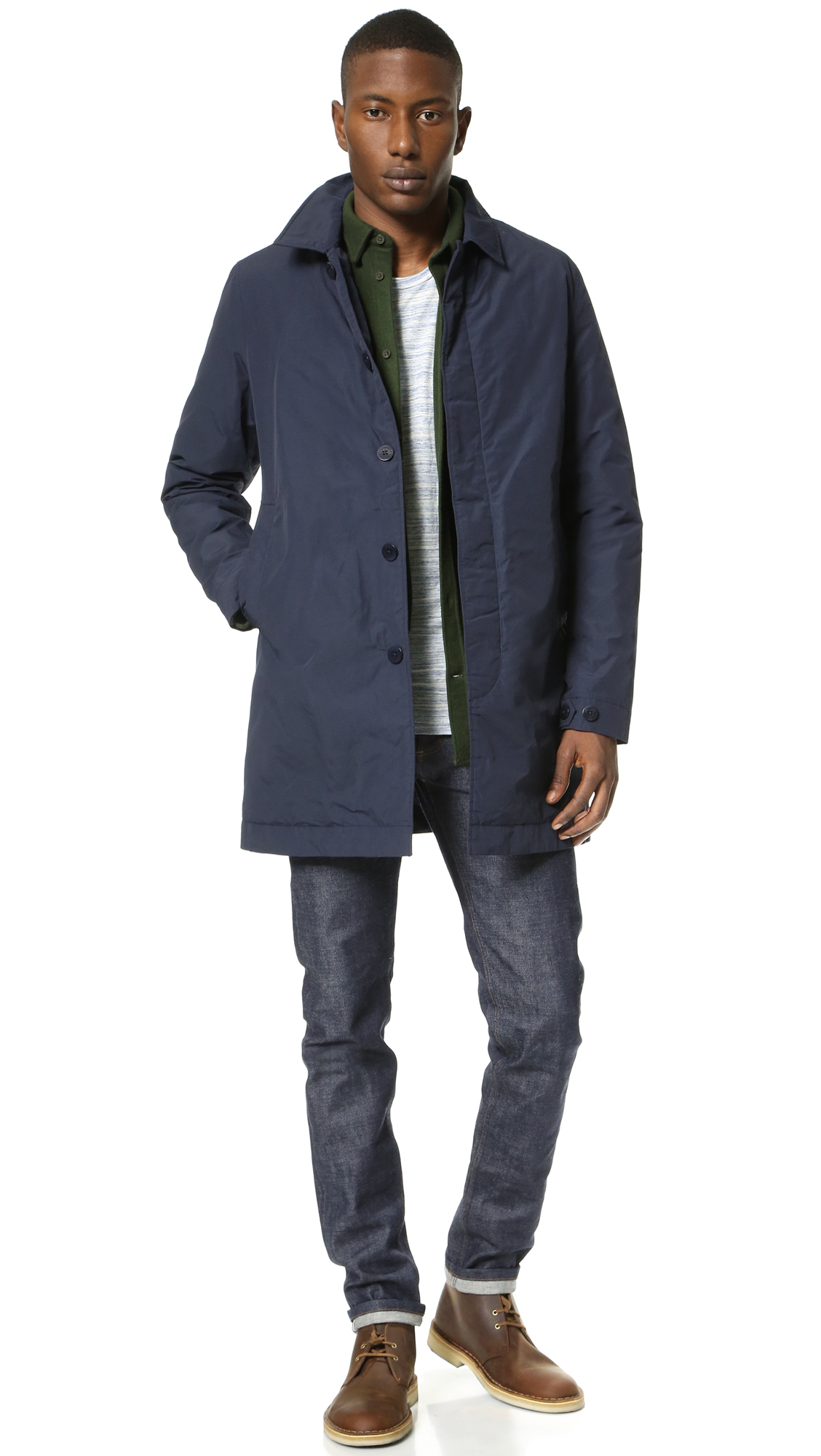 cade0c843 Norse Projects Blue Thor Light Winter Jacket for men