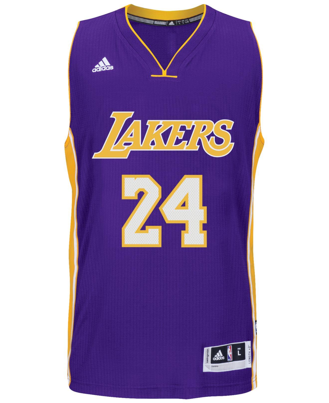 Adidas originals Men\'s Kobe Bryant Los Angeles Lakers Swingman