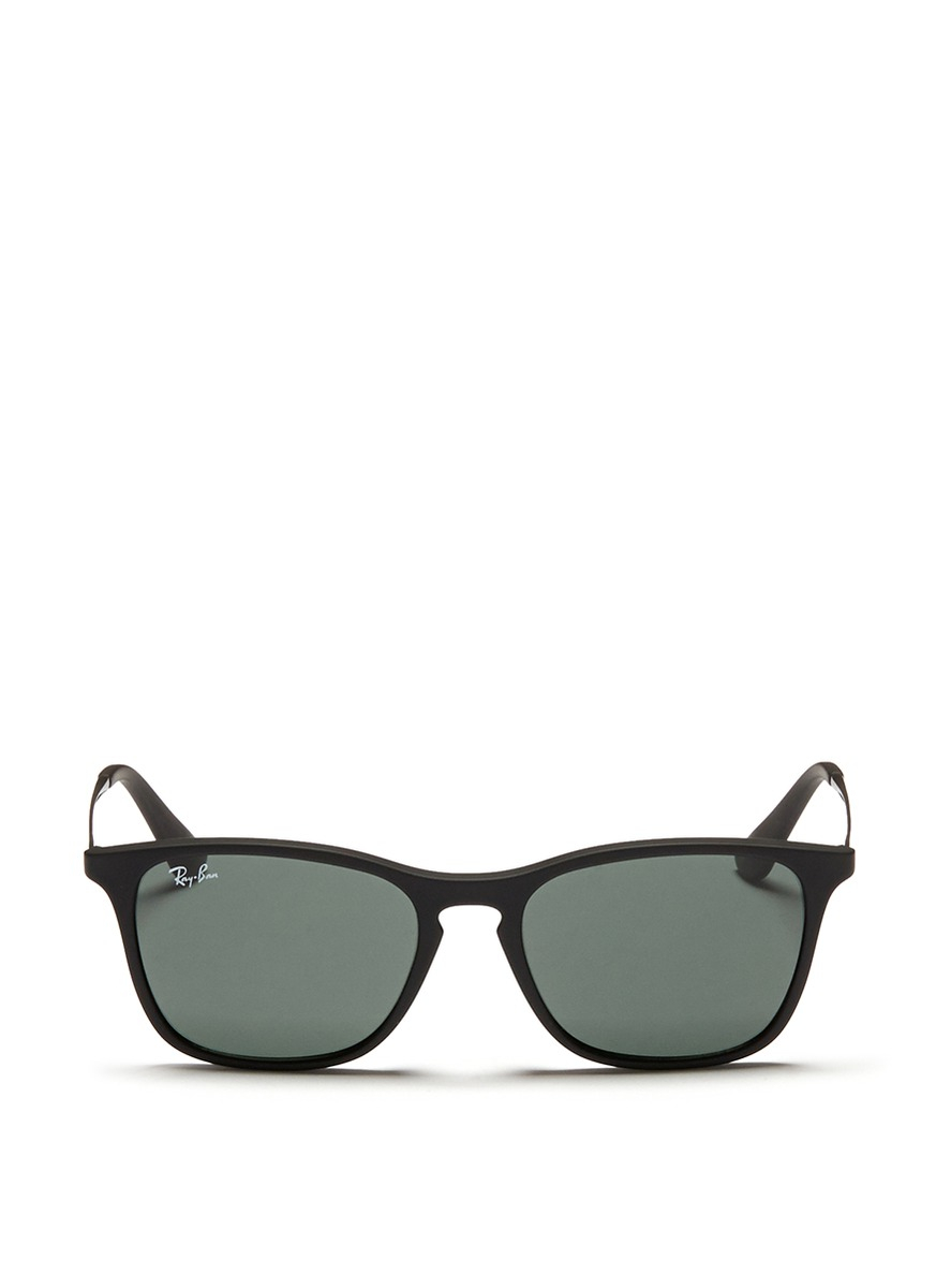 Ray Ban Wireframe Glasses : Ray-ban Chris Junior Acetate Frame Wire Temple ...