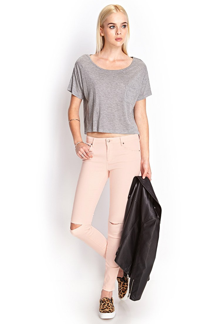62 Off Forever 21 Pants Light Pink Skinny Jeans From Lexi - Light Pink Skinny Jeans Forever 21 - Best Jeans 2017