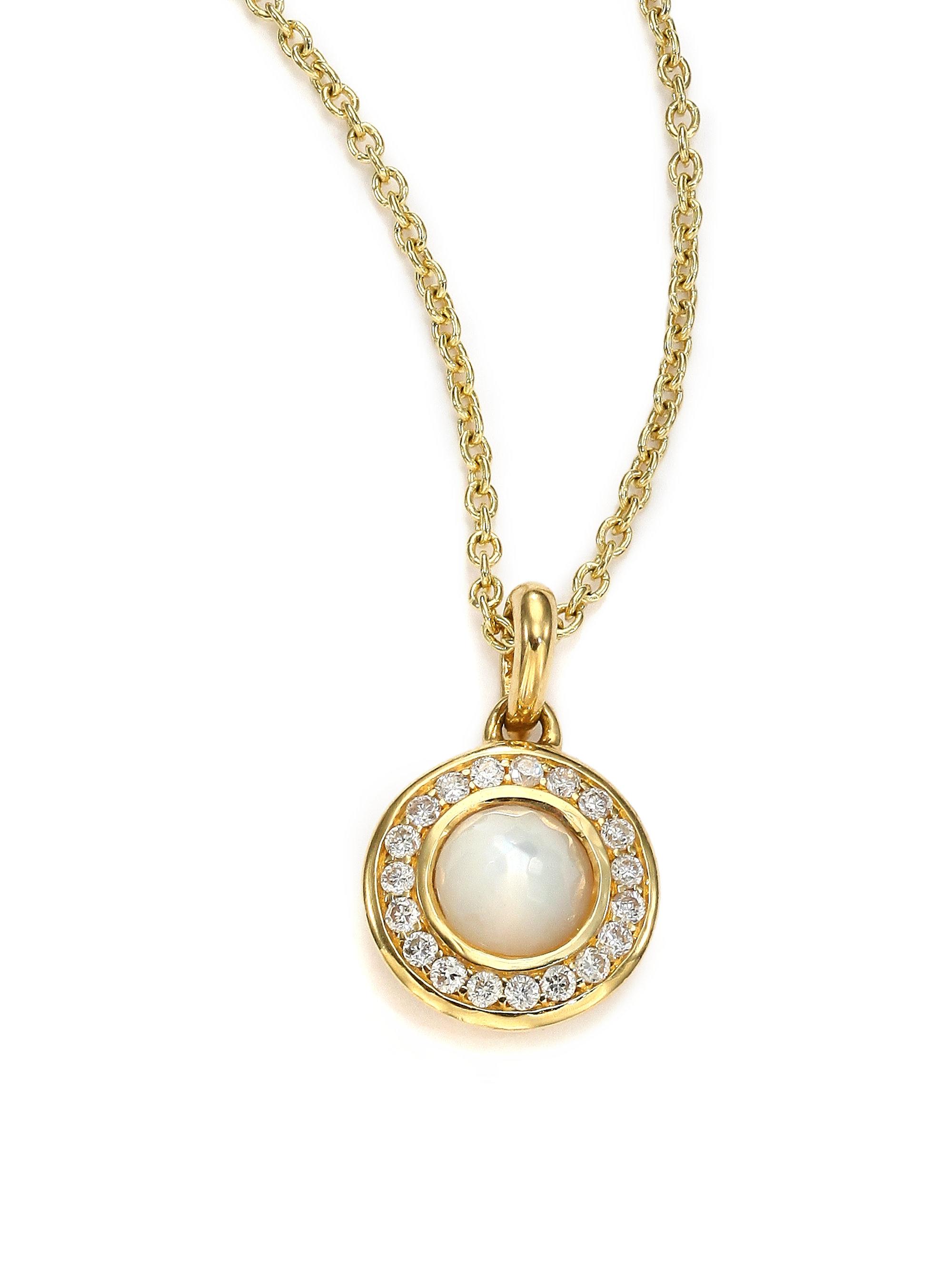 Lyst - Ippolita Lollipop Mother-of-pearl, Diamond & 18k ...
