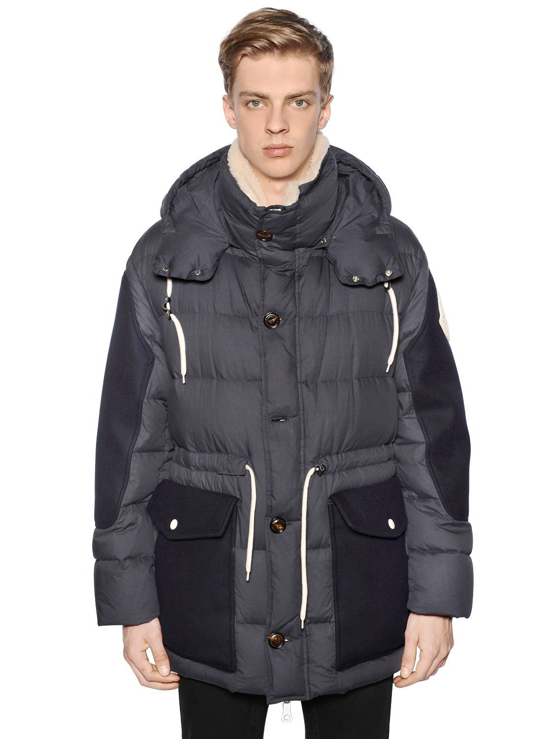 moncler x ami orland quilted jacket