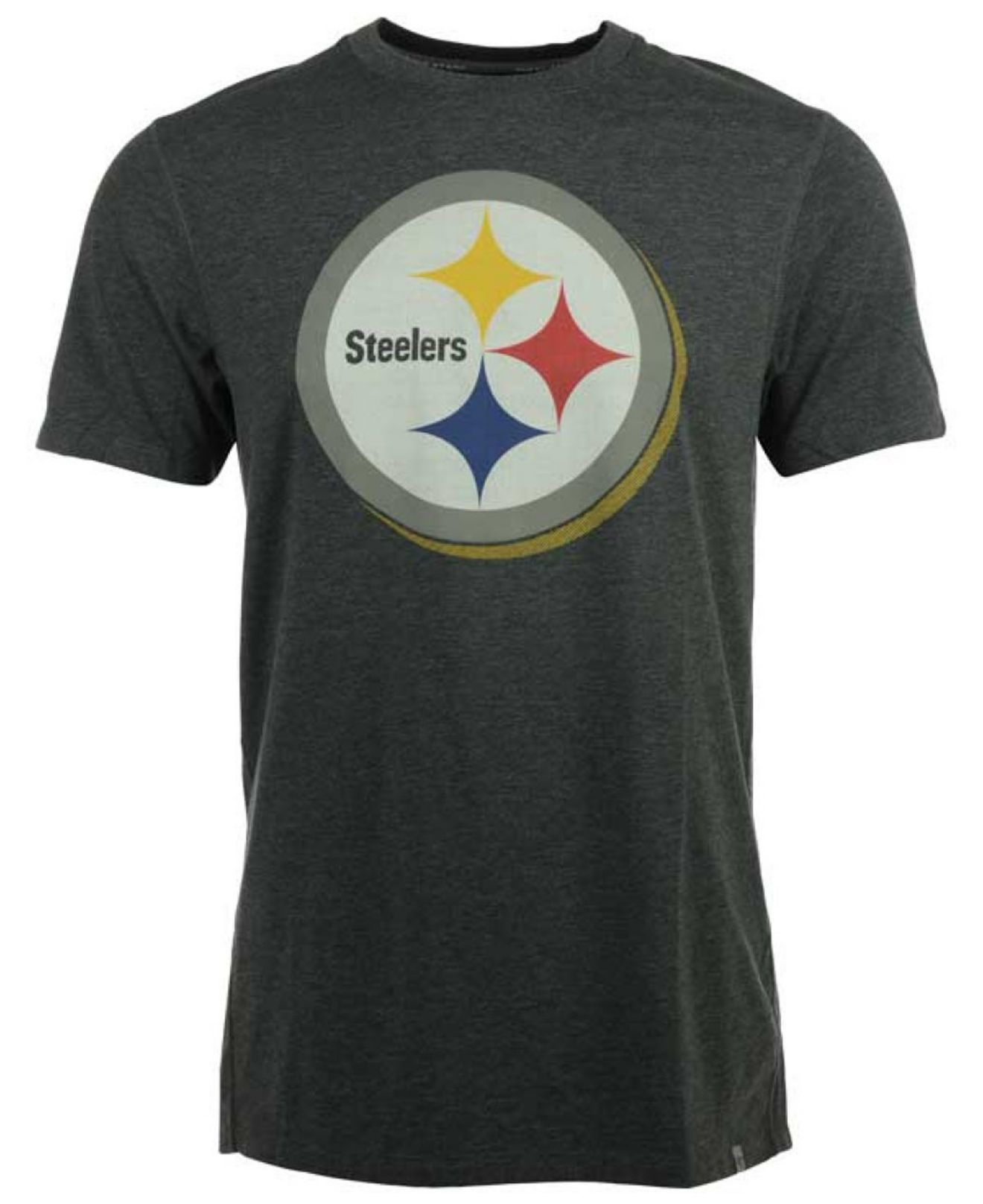 06ce7afed Lyst - 47 Brand Men s Pittsburgh Steelers Forward High Point T-shirt ...