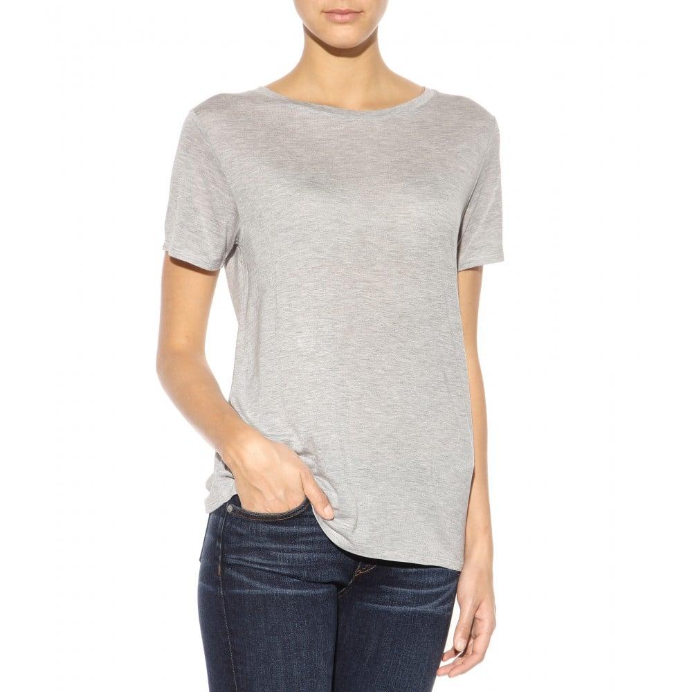 Rag bone concert tee t shirt in gray lyst for Rag bone shirt