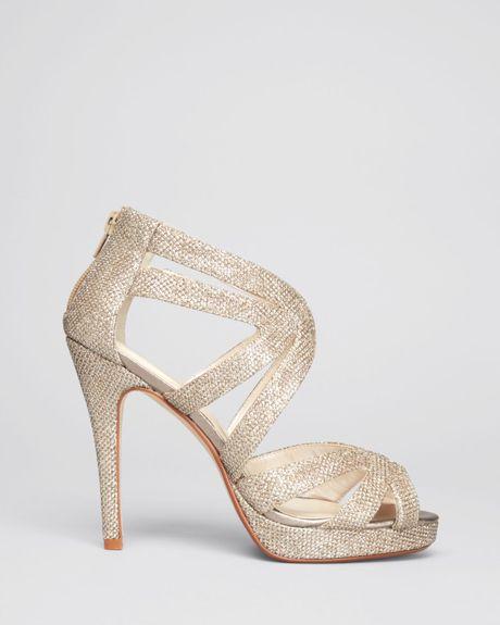 Two Piece Block Heel Sandal