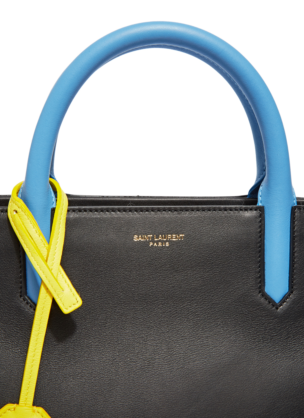 44ac294787 Lyst - Saint Laurent Cabas Rive Gauche Bag in Blue