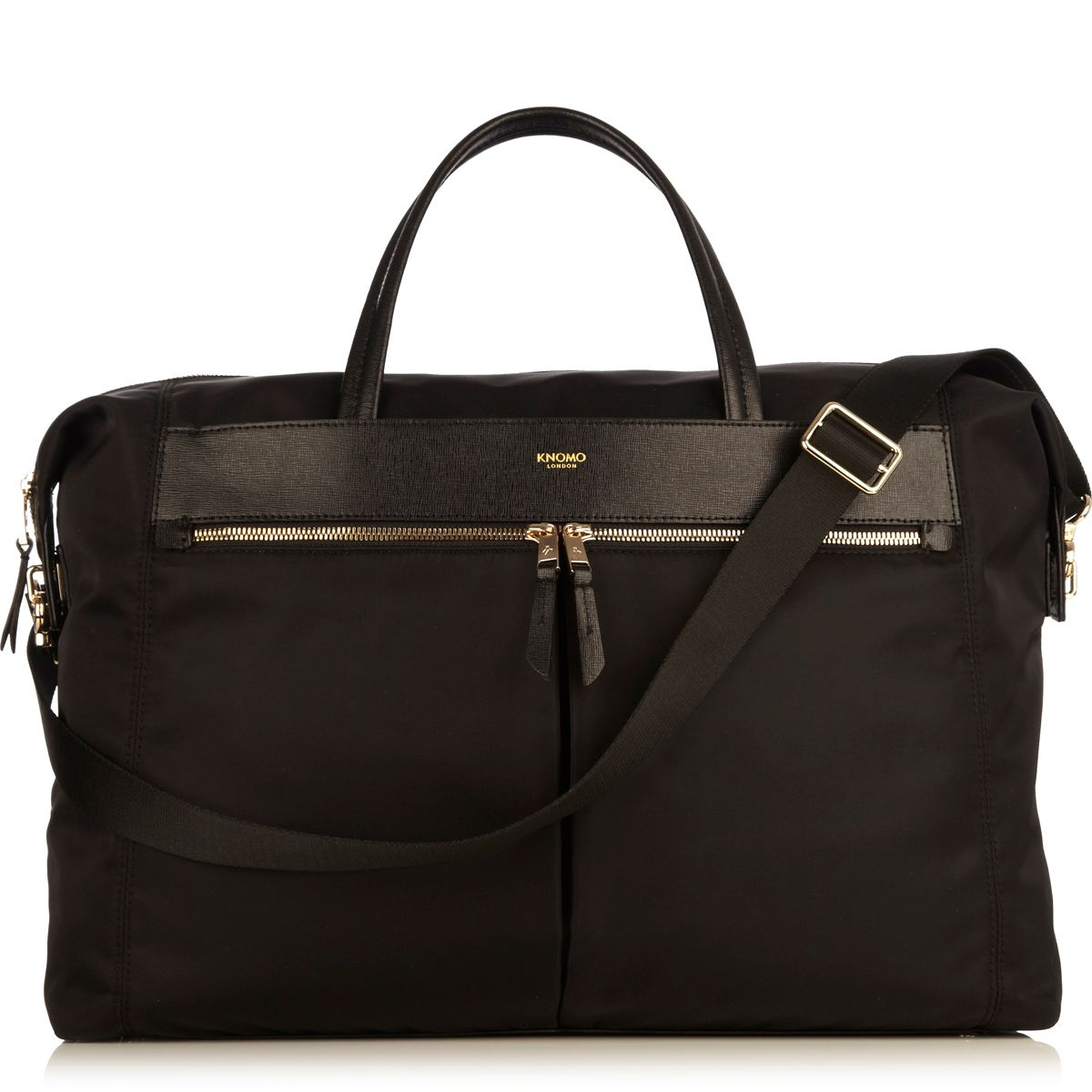 Knomo Dover  Black Weekend Bag In Black Lyst
